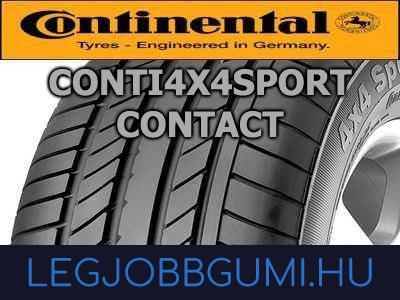 Continental - Conti4x4SportContact