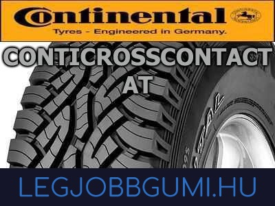 Continental - ContiCrossContact AT