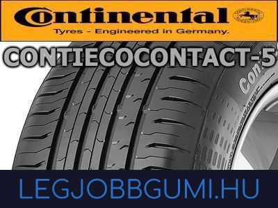 Continental - ContiEcoContact 5