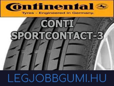 Continental - ContiSportContact 3