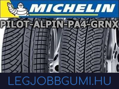 Michelin - Pilot Alpin PA4 GRNX
